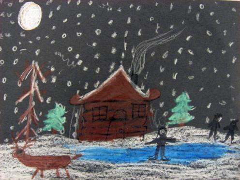 496x372 Winter Scene