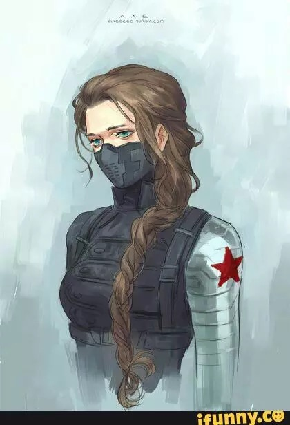 420x615 Female Winter Soldierucky Barnes Catsuit Tactical Suit Fantasy