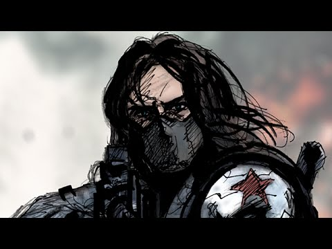 480x360 The Winter Soldier Speed Drawing