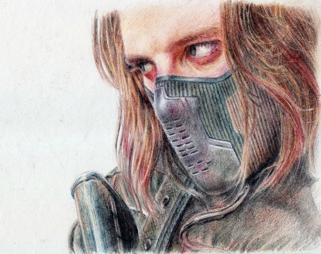 1024x809 Winter Soldier Drawing The Winter Soldier 6tutut