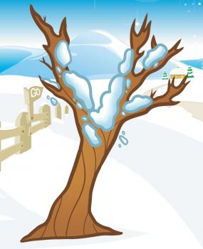 285x350 How To Draw How To Draw A Winter Tree, Winter Tree