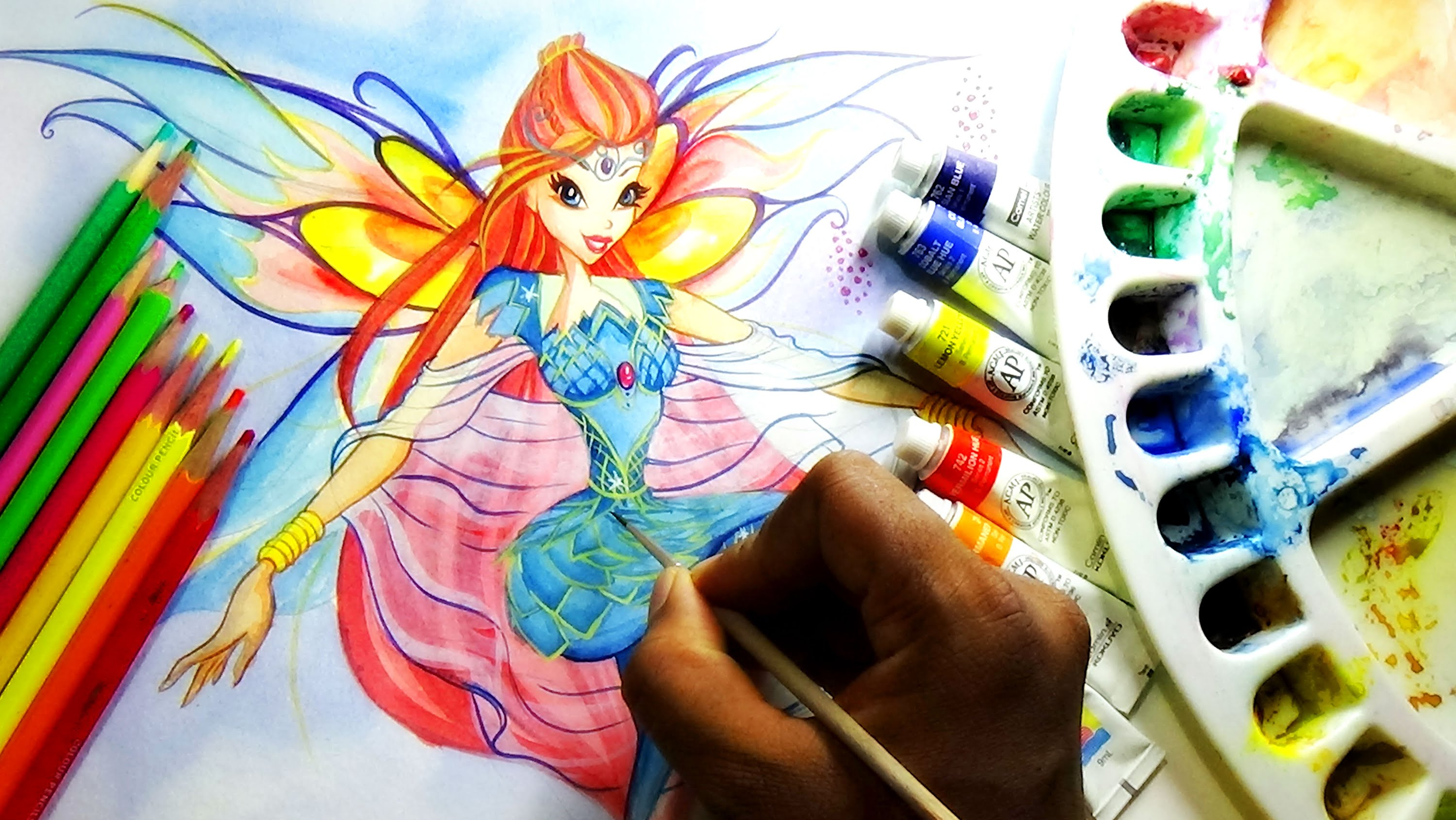 Winx Club Bloom Drawing at GetDrawings com | Free for