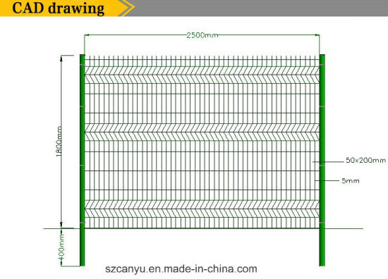 550x396 China Security Fencing Long Movable With Wheels Wire Mesh Workshop