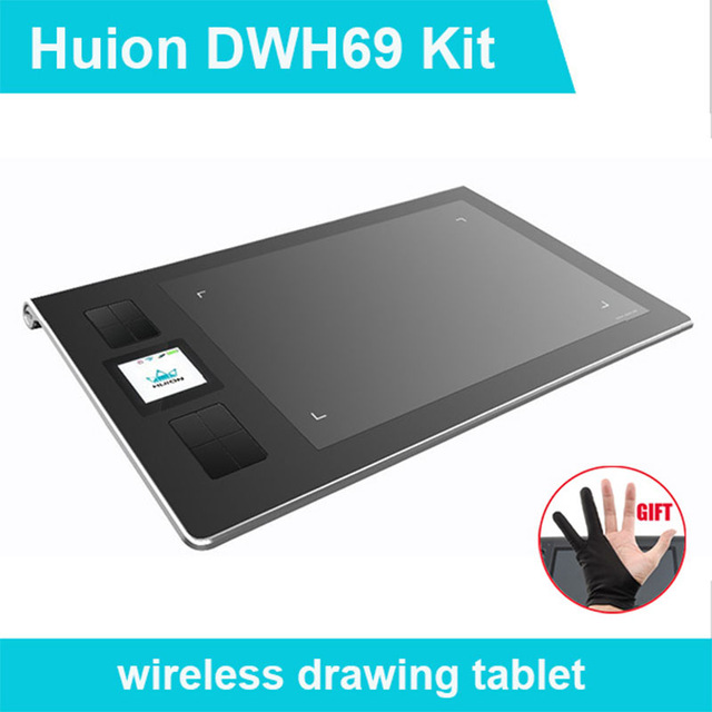 640x640 Huion Dwh69 Wireless Graphics Drawing Tablets Professional