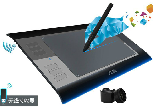 640x460 New Gm Wh850 2.4g Wireless Usb Professional Graphics Drawing