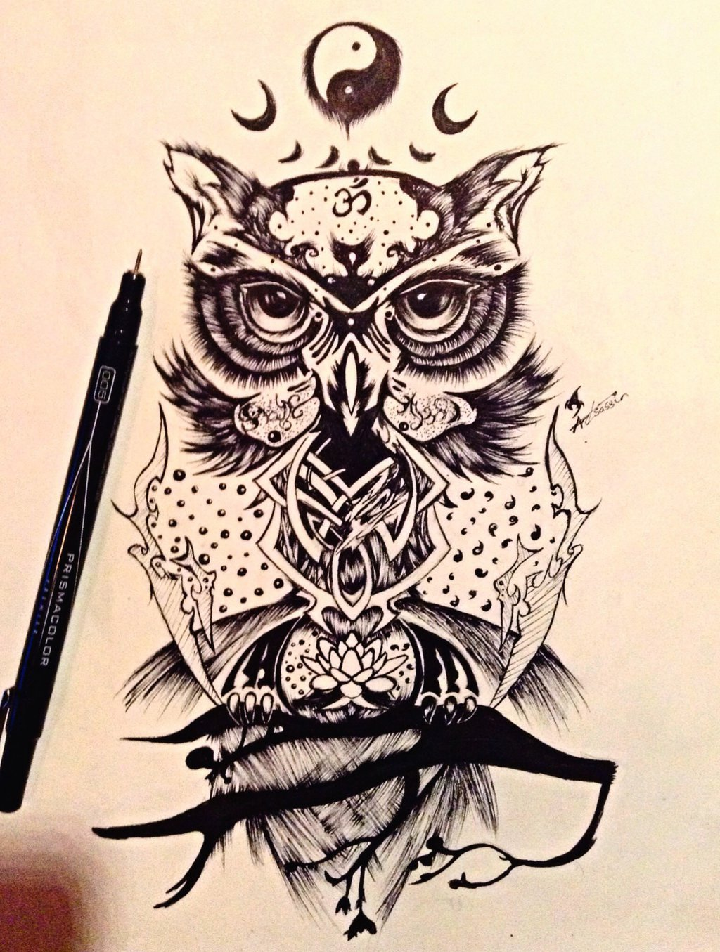 1024x1355 Wise Owl Design By On @ Owls
