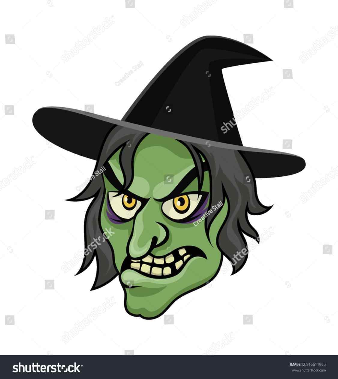 Witch Face Drawing at GetDrawings.com | Free for personal use Witch ...