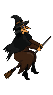 215x382 How To Draw A Witch, Halloween, Holidays, Easy Step By Step