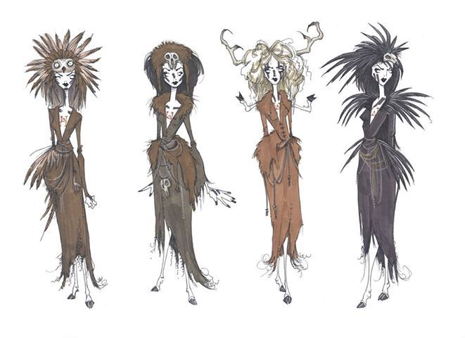 661x480 Witches Drawings Mystery And Madness, Illustrations Of Insanity