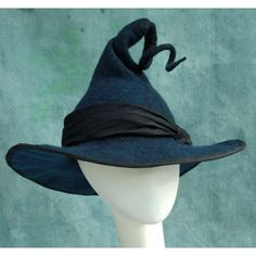 236x236 Wide Brim Witch Hat. Wizard Hat. Fantasy Hat. Cosplay Hat. Larp