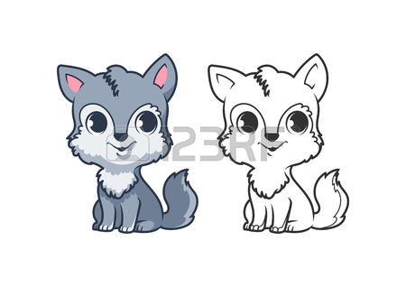 450x318 432 Wolf Cub Cliparts, Stock Vector And Royalty Free Wolf Cub