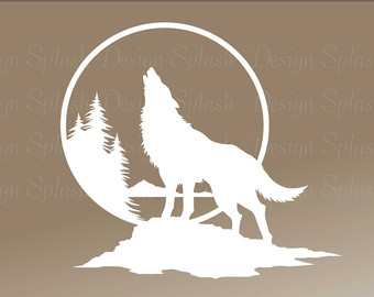 340x270 Items Similar To Coyote Car Decal, Coyote Decal, Wolf Car Decal