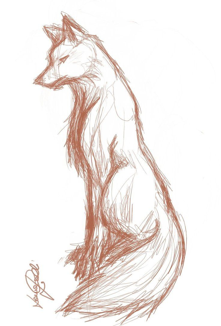 736x1084 Anime Wolf Drawings Anime Cute Animal Love Sketch Best Anime