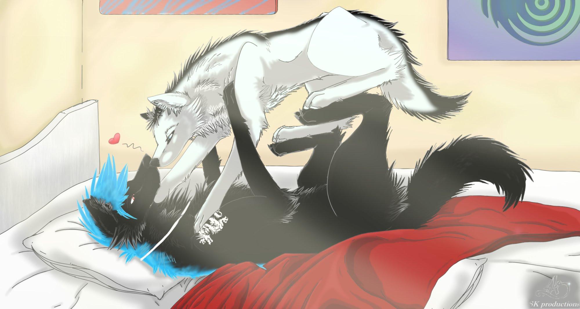 2000x1066 Pin By Luna Woolf On Lobos Anime Anime Wolf