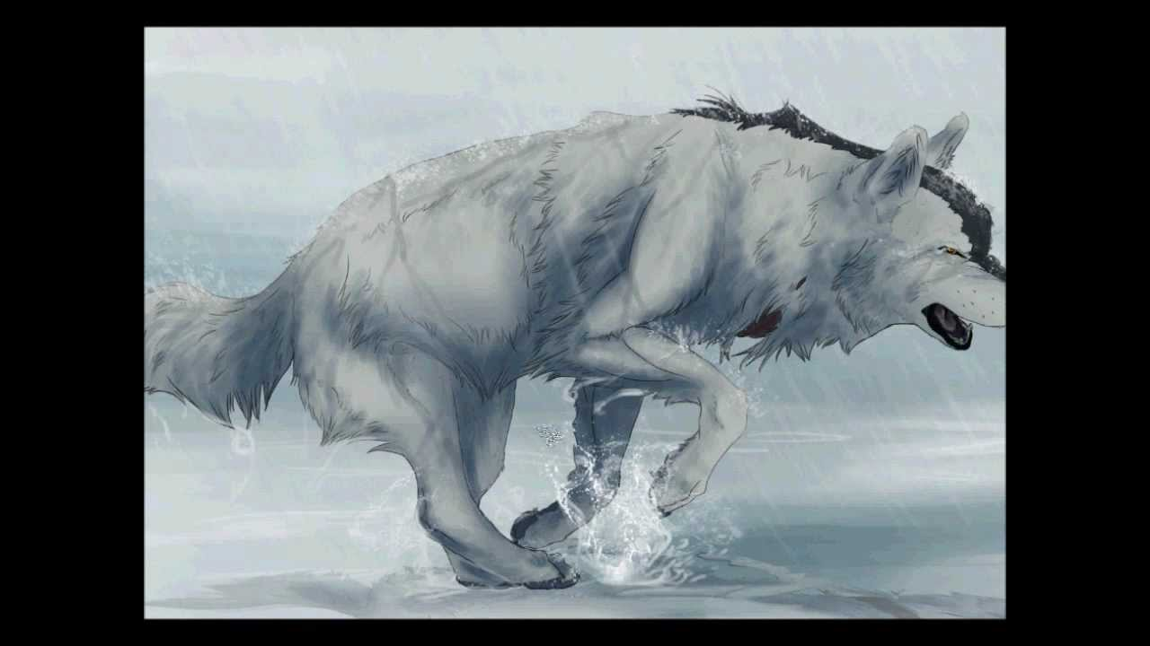 1280x720 Drawing a Running Wolf in Photoshop