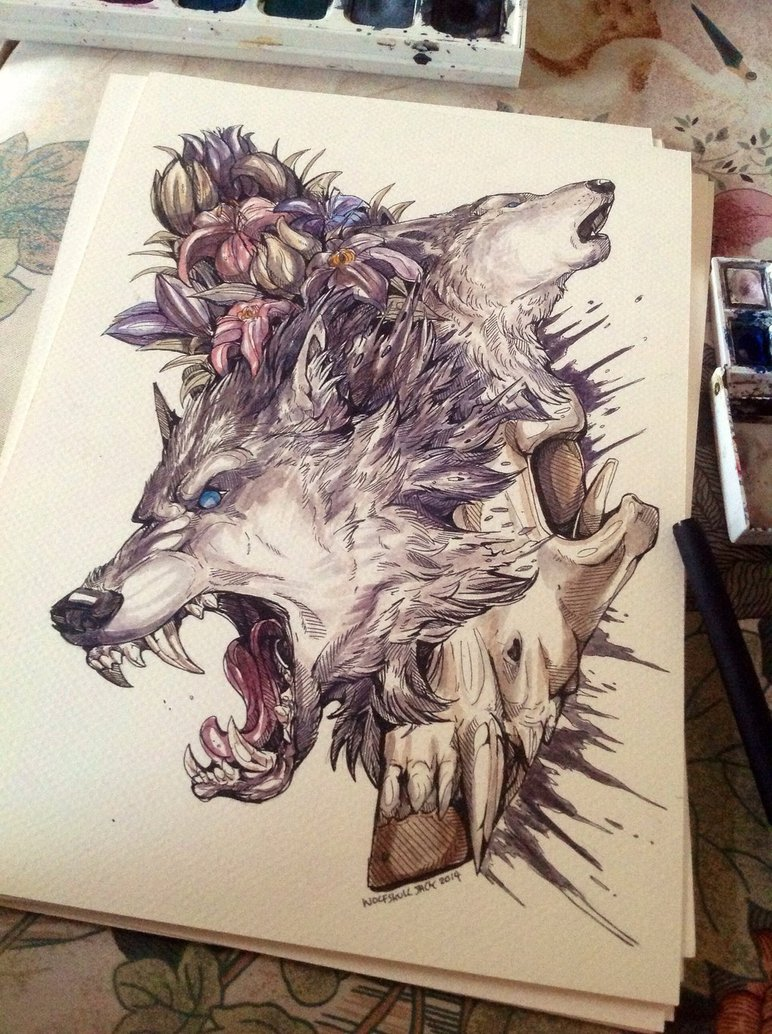 772x1034 Wolf Skull Jack