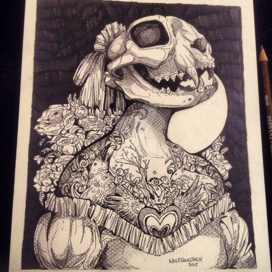 894x894 Wolf Skull Jack