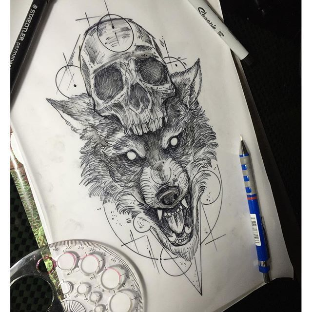 640x640 About Wolf Skull On Coyote Skull Skulls And Dog Skull