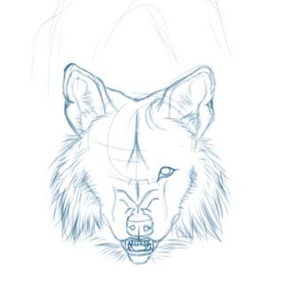 320x320 growl drawings on PaigeeWorld. Pictures of growl