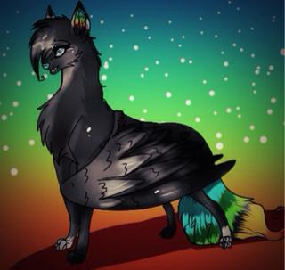 320x303 So Now A Bunch Of Rainbow Wolves Have Wings. I Think I Like This