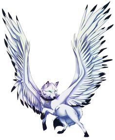 236x287 White Lightning Anime Stuff Anime Angel, Wolf