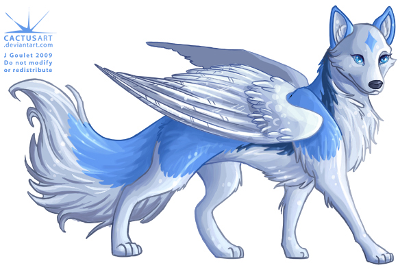600x400 Pictures Wolf With Wings