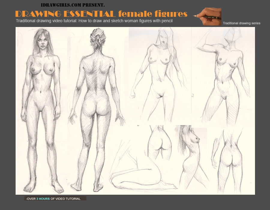 900x700 To Draw Female Figures And Anatomy