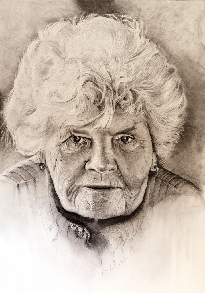 716x1024 Head Of An Old Woman