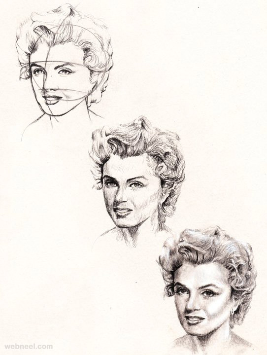 542x720 How To Draw A Face