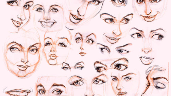570x320 Drawing A Female Face Womens Faces By ~jonigodoy