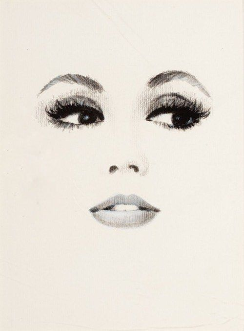 500x677 Gallery Womens Faces Drawings,