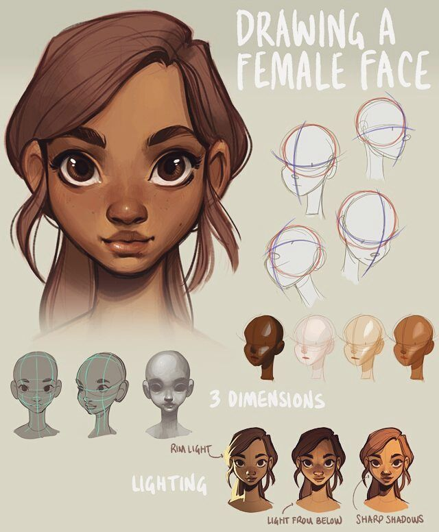 640x776 Since I Posted A Mini Tutorial On Drawing A Head Yesterday, I