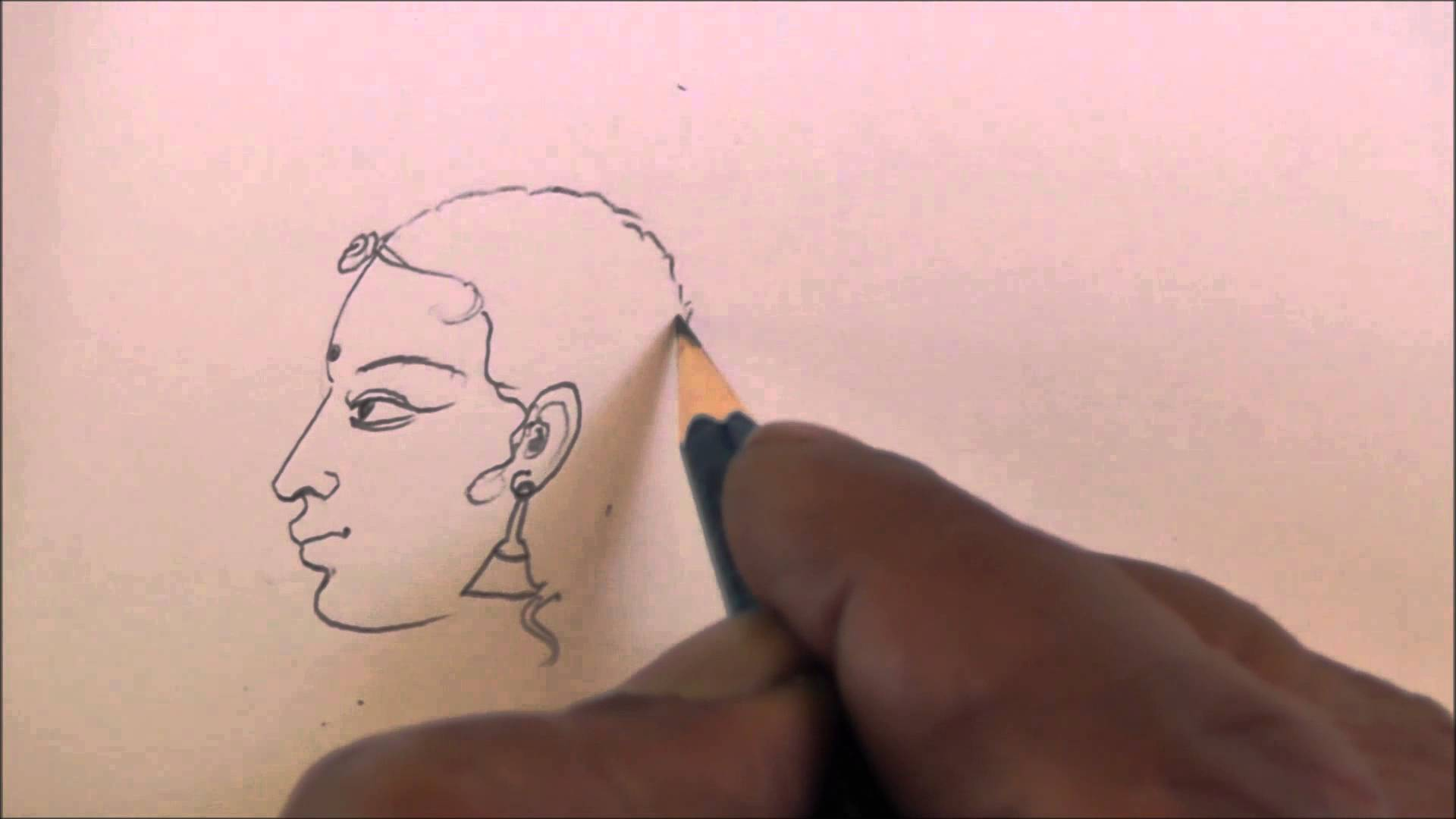 1920x1080 How To Draw Hand Free Sketch Of Women Face Youtube Measure Vinyl