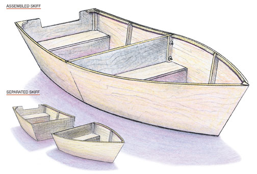 Wood Boat Drawing at GetDrawings.com | Free for personal use Wood ...