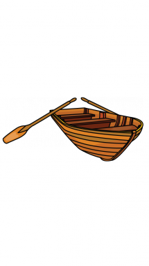 215x382 How To Draw A Wooden Boat, Easy Step By Step Drawing Tutorial