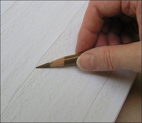 500x434 How To Draw Realistic Wood Grain Details With Colored Pencils