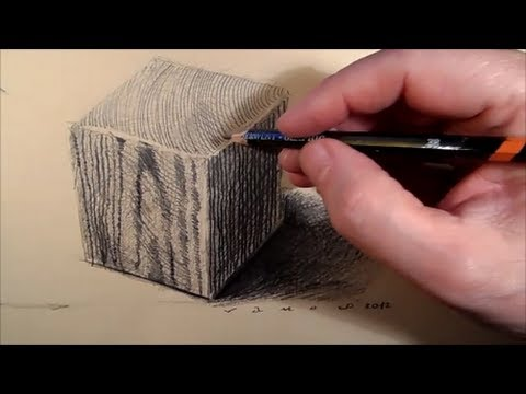 480x360 How To Draw A Wooden Cube
