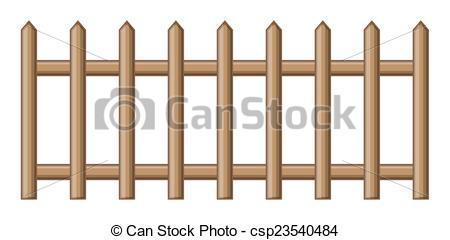 450x240 Abstract Retro Wooden Fence Vector Design Vector