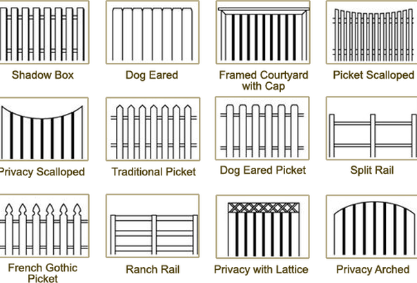 wood fence drawing at getdrawings com free for personal use wood