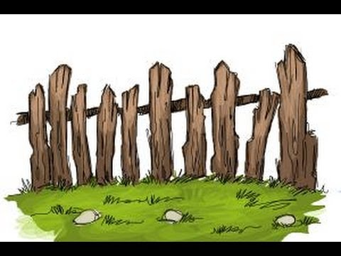 480x360 How To Draw A Fence