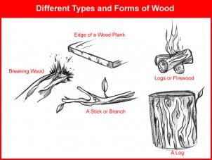 302x227 How To Draw How To Draw Wood