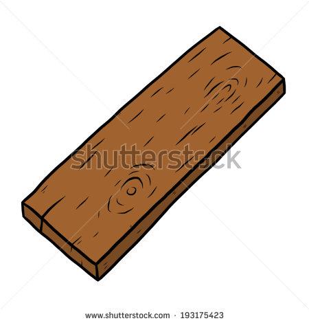 450x470 Vertical Wood Plank Clipart