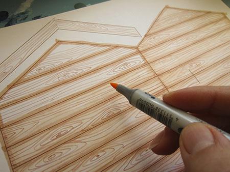 450x338 Wood Effect (Drawing)