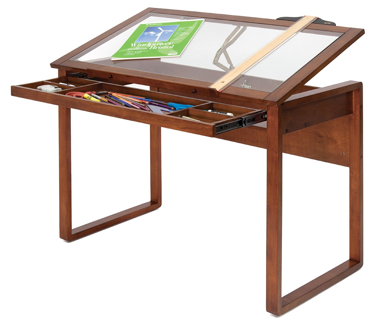 1500x1267 Studio Designs Ponderosa Table, Glasswood, Brown Amazon.co.uk