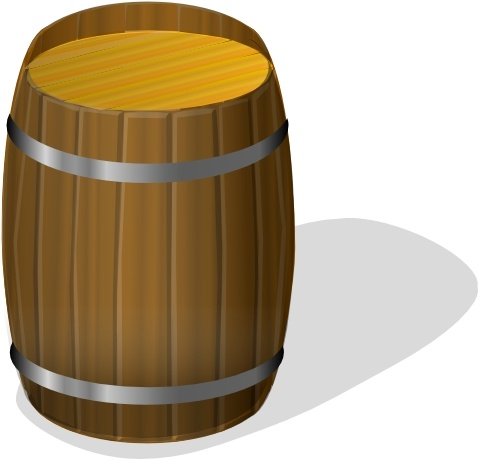 478x459 Wooden Barrel Clip Art Free Vector In Open Office Drawing Svg