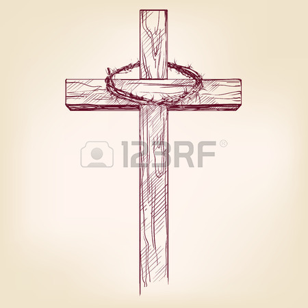 450x450 9,877 Wooden Cross Cliparts, Stock Vector And Royalty Free Wooden
