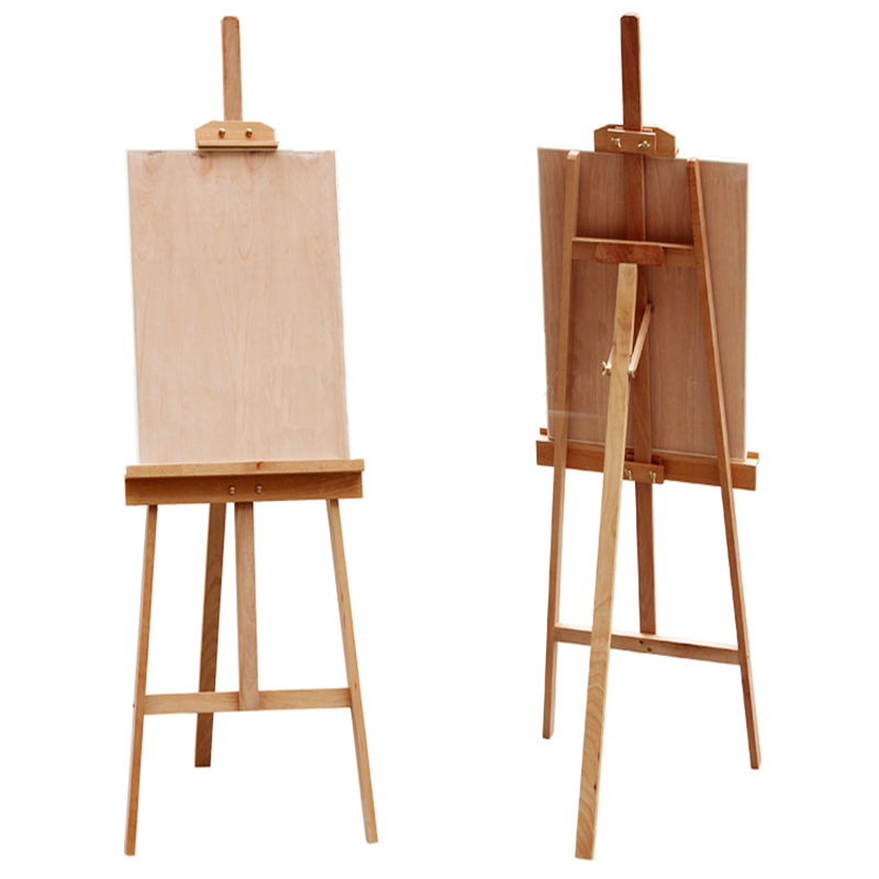 800x800 Hot Sale Wooden Drawing Painting Easel Stand
