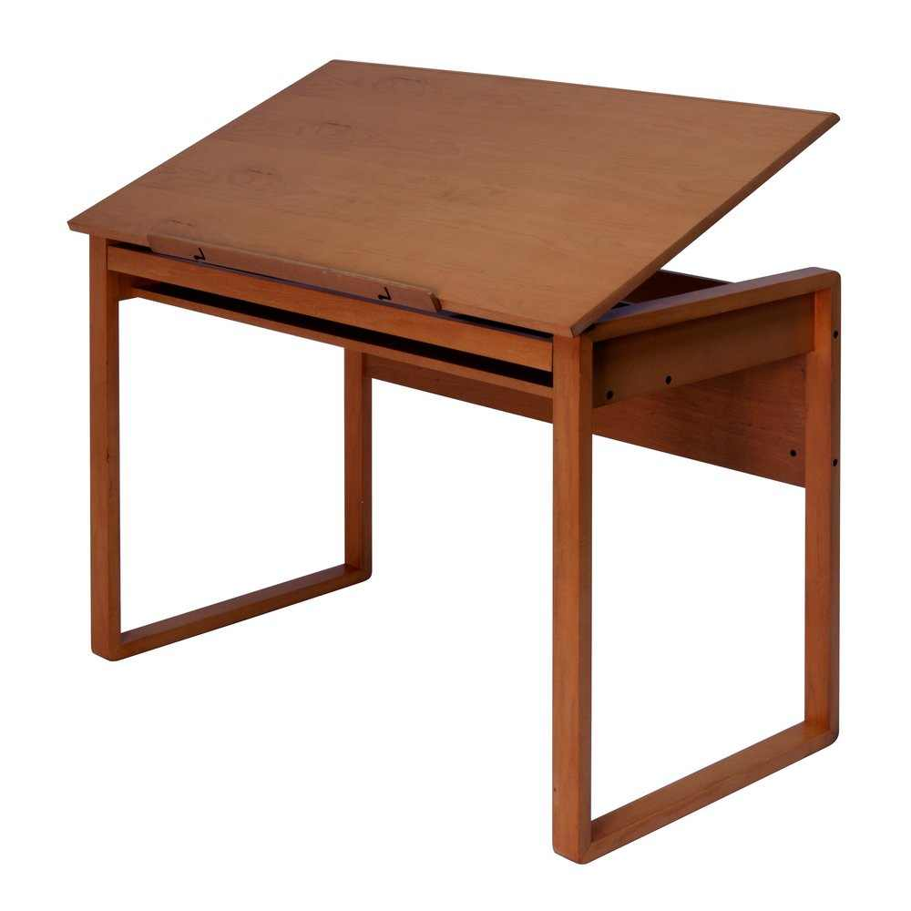 1000x1000 Studio Designs Ponderosa 24 X 42 Wood Drawing Table 13285