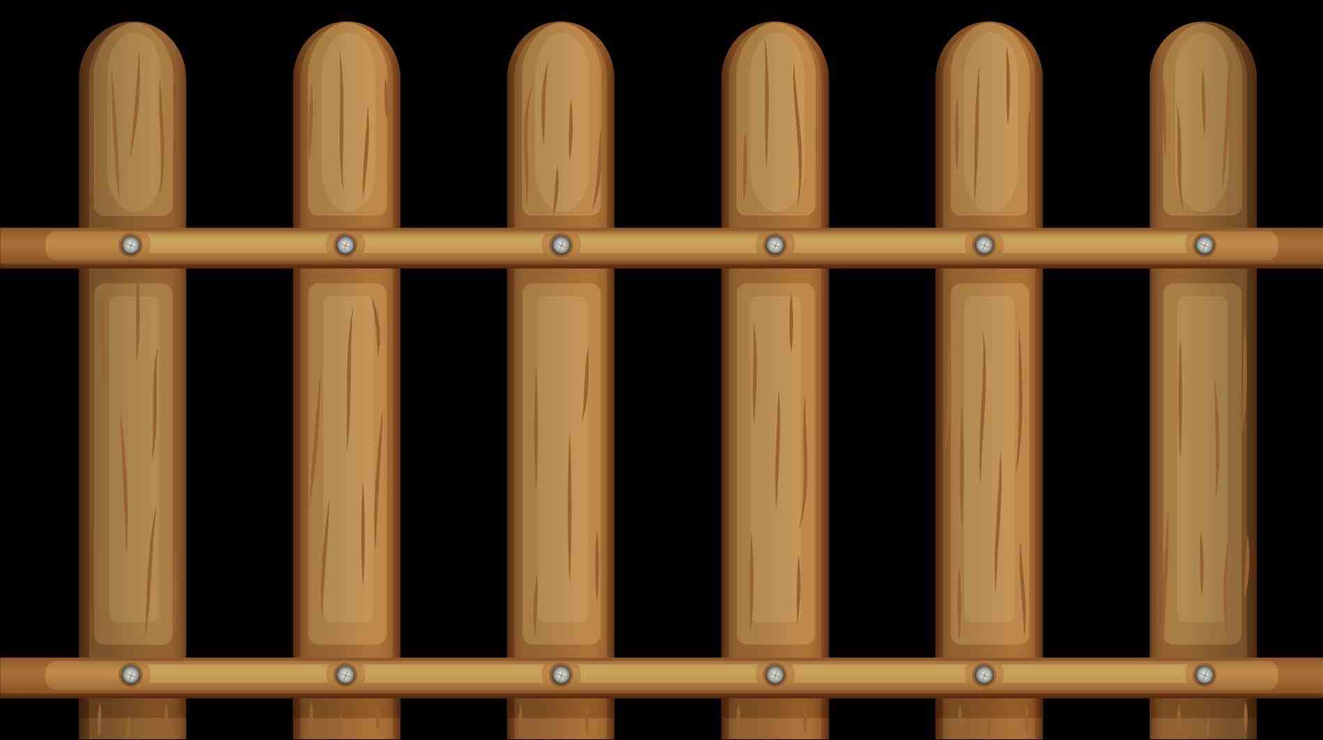 Wooden Fence Drawing at GetDrawings.com   Free for personal use ...
