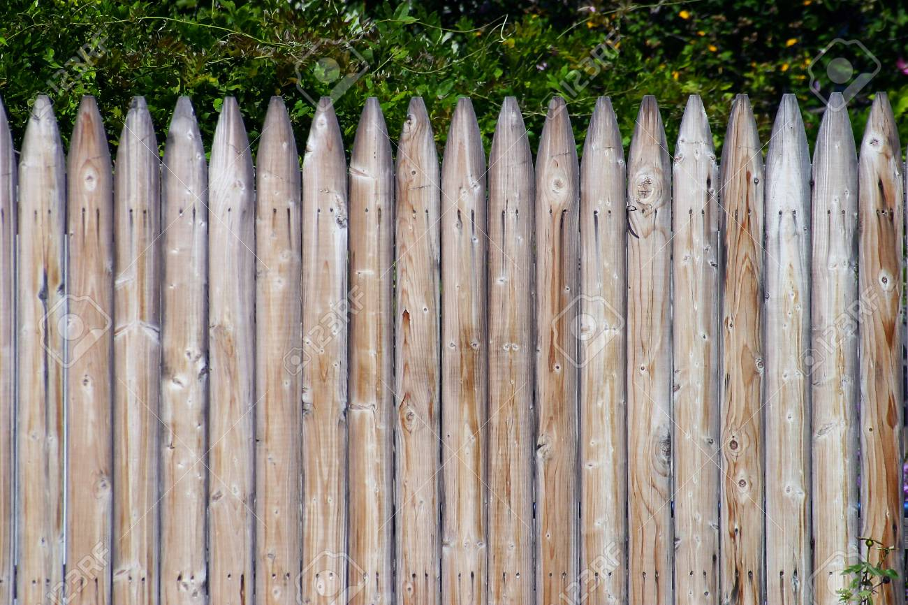 1300x866 Wooden Fence Detail Stock Photo, Picture And Royalty Free Image